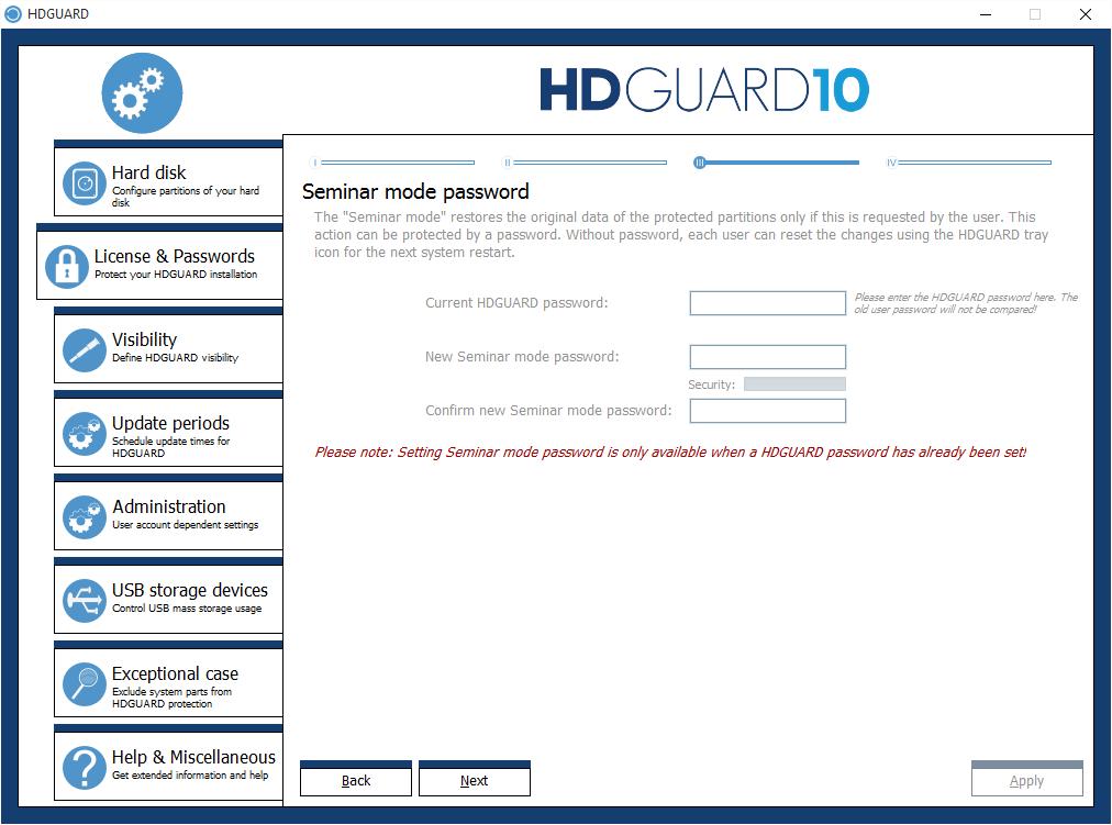 06 - Seminar mode password